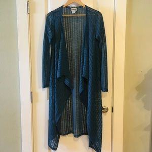 Vintage Empire Lace Cover Up Cardigan 1X